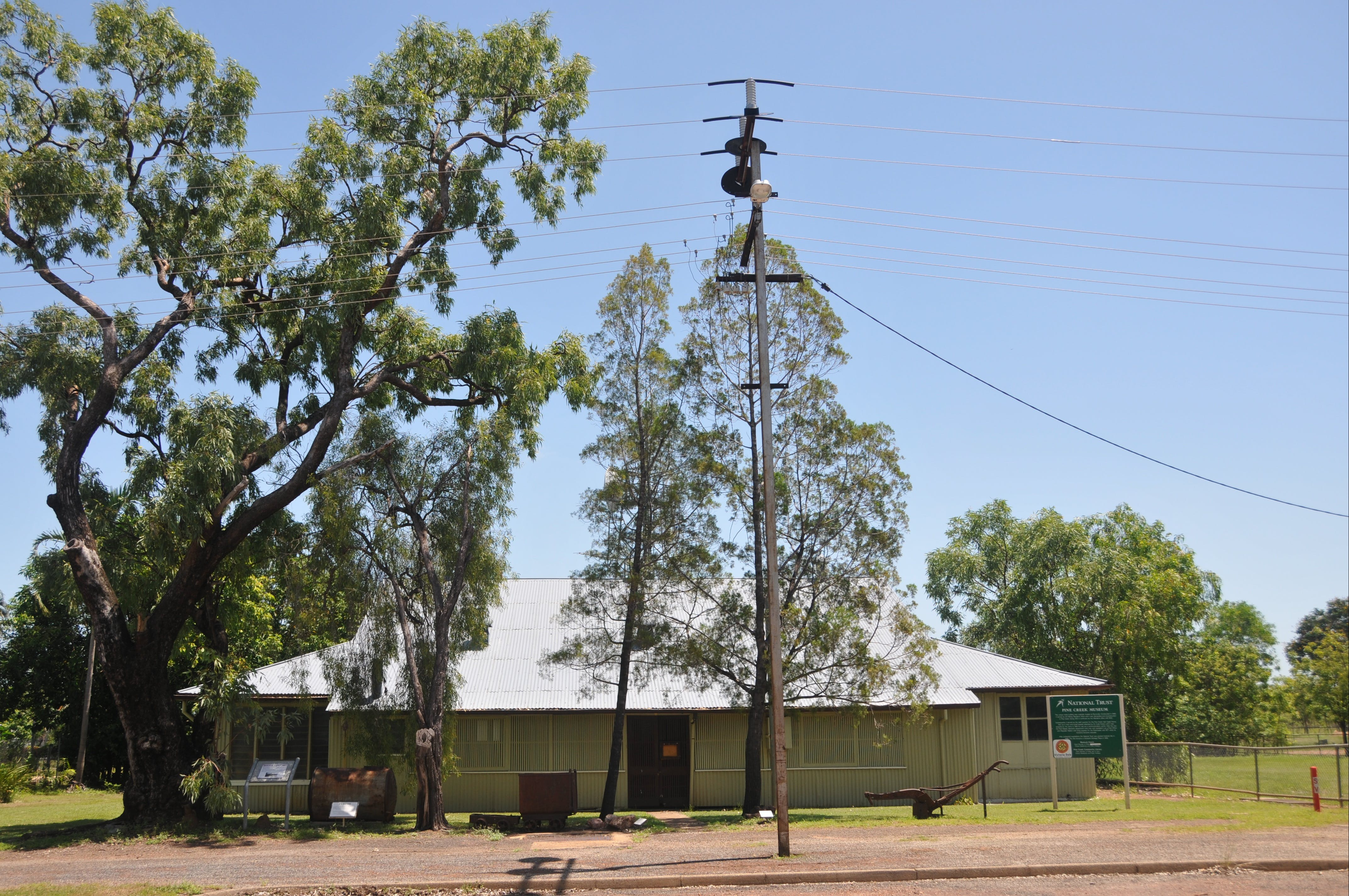 Pine Creek Post Office and Repeater Station - Accommodation Melbourne