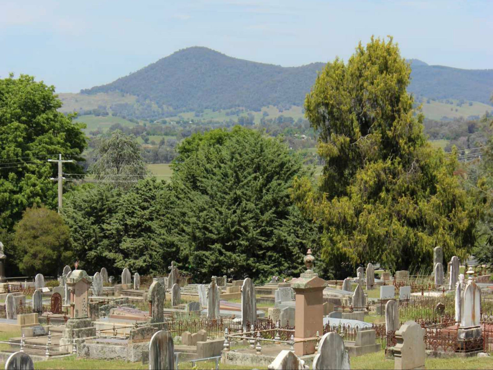 Yackandandah Cemetery - Accommodation Melbourne