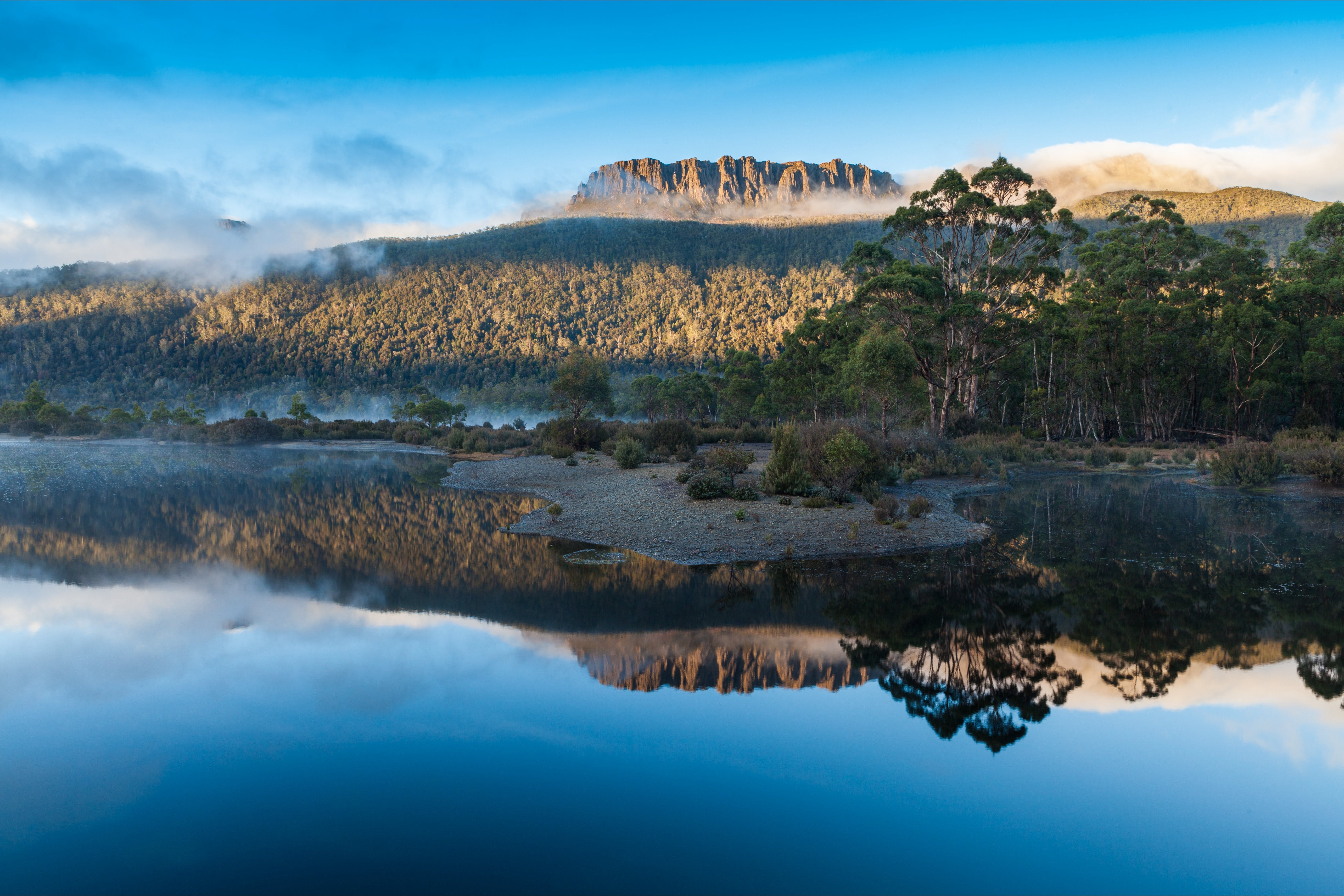 Lake St Clair Cradle Mountain  - Lake St Clair National Park - Accommodation Melbourne