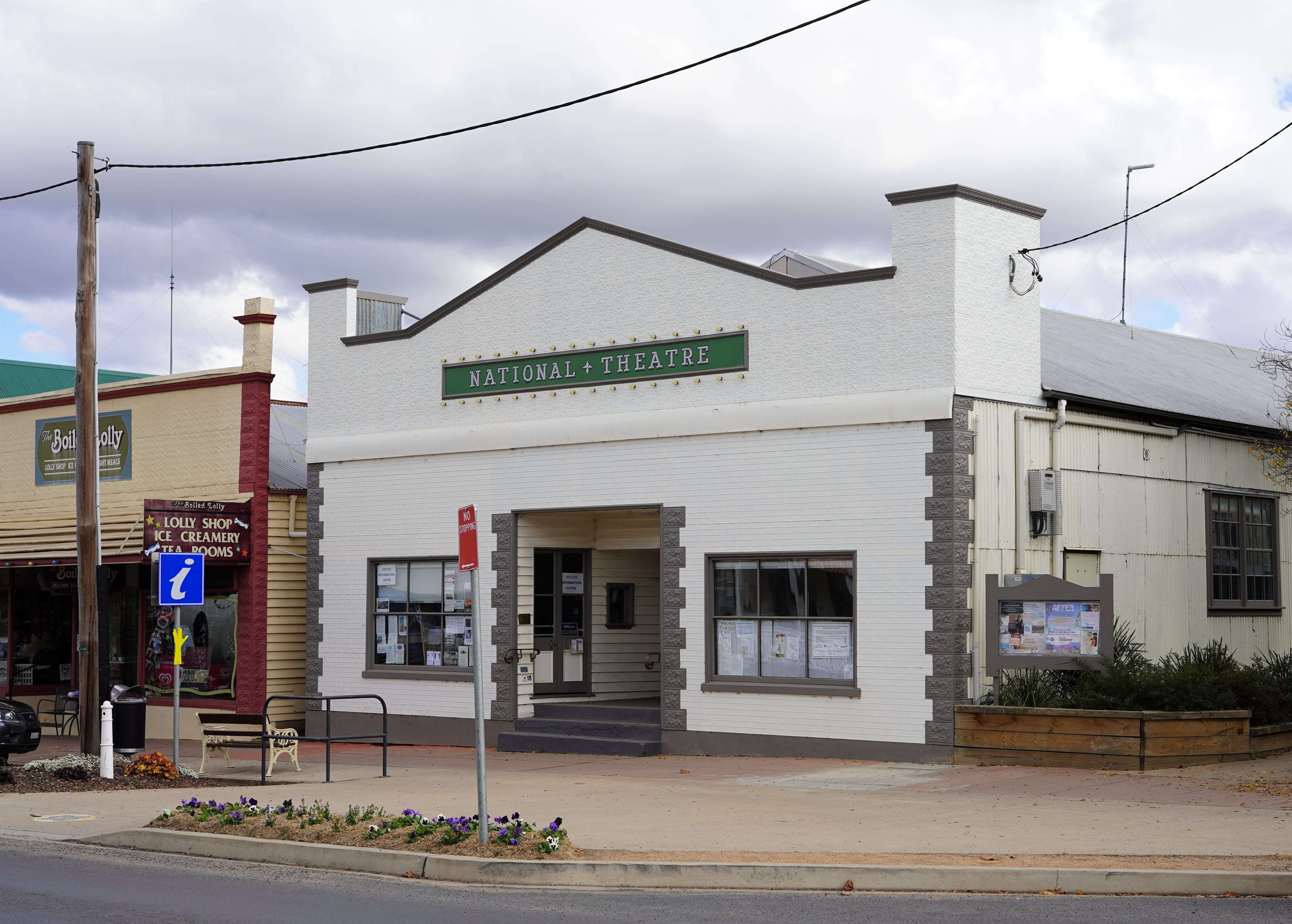 Braidwood Visitors Information Centre at the Theatre - Accommodation Melbourne