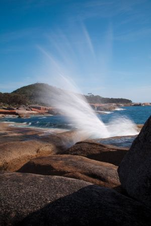 Bicheno Blowhole - Accommodation Melbourne