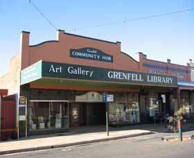 Grenfell Art Gallery - Accommodation Melbourne