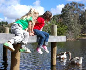 Vasse River and Rotary Park - Accommodation Melbourne