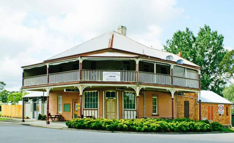 The Victoria Hotel Hinton - Accommodation Melbourne