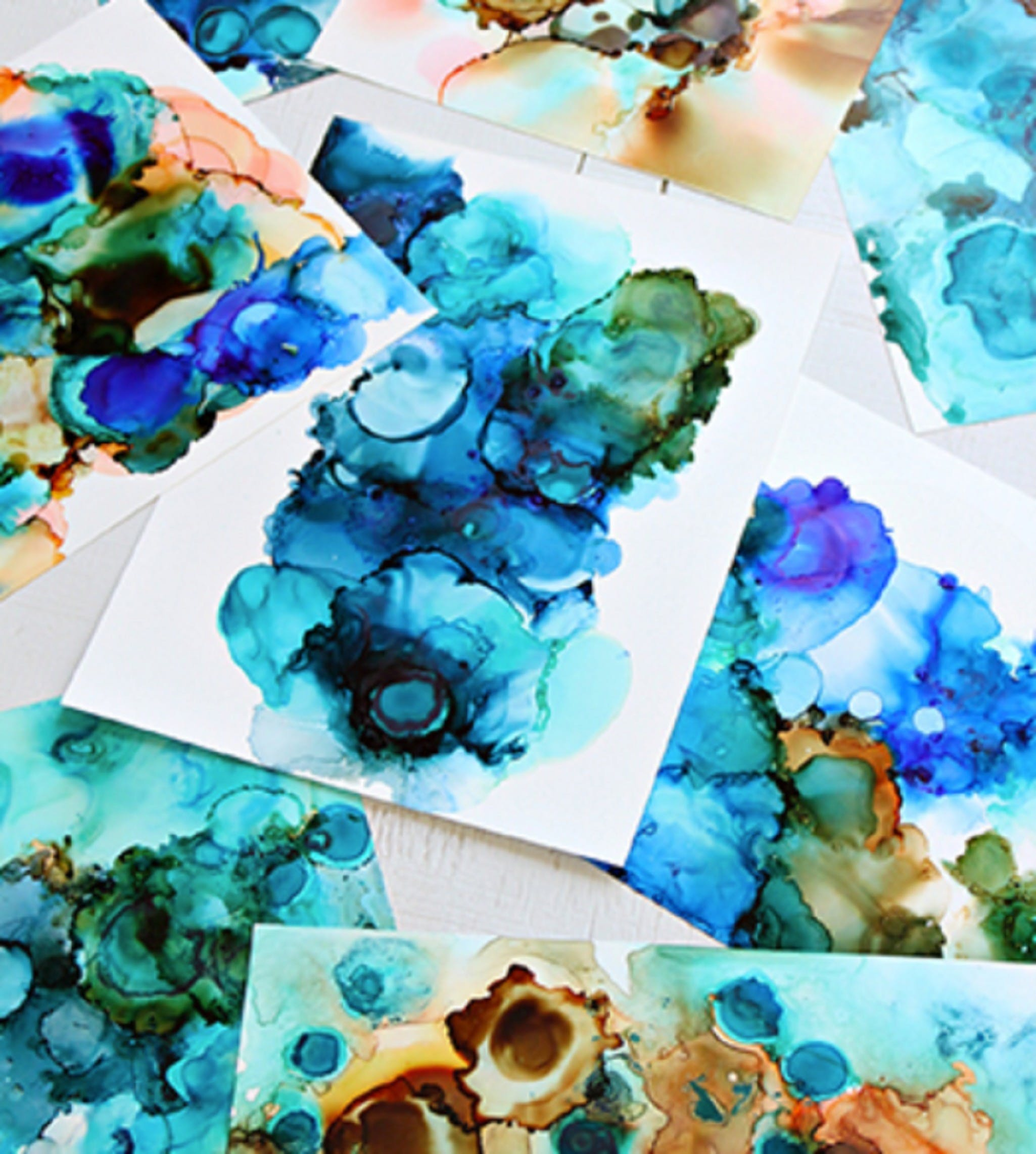 Alcohol Ink Art Class - Accommodation Melbourne