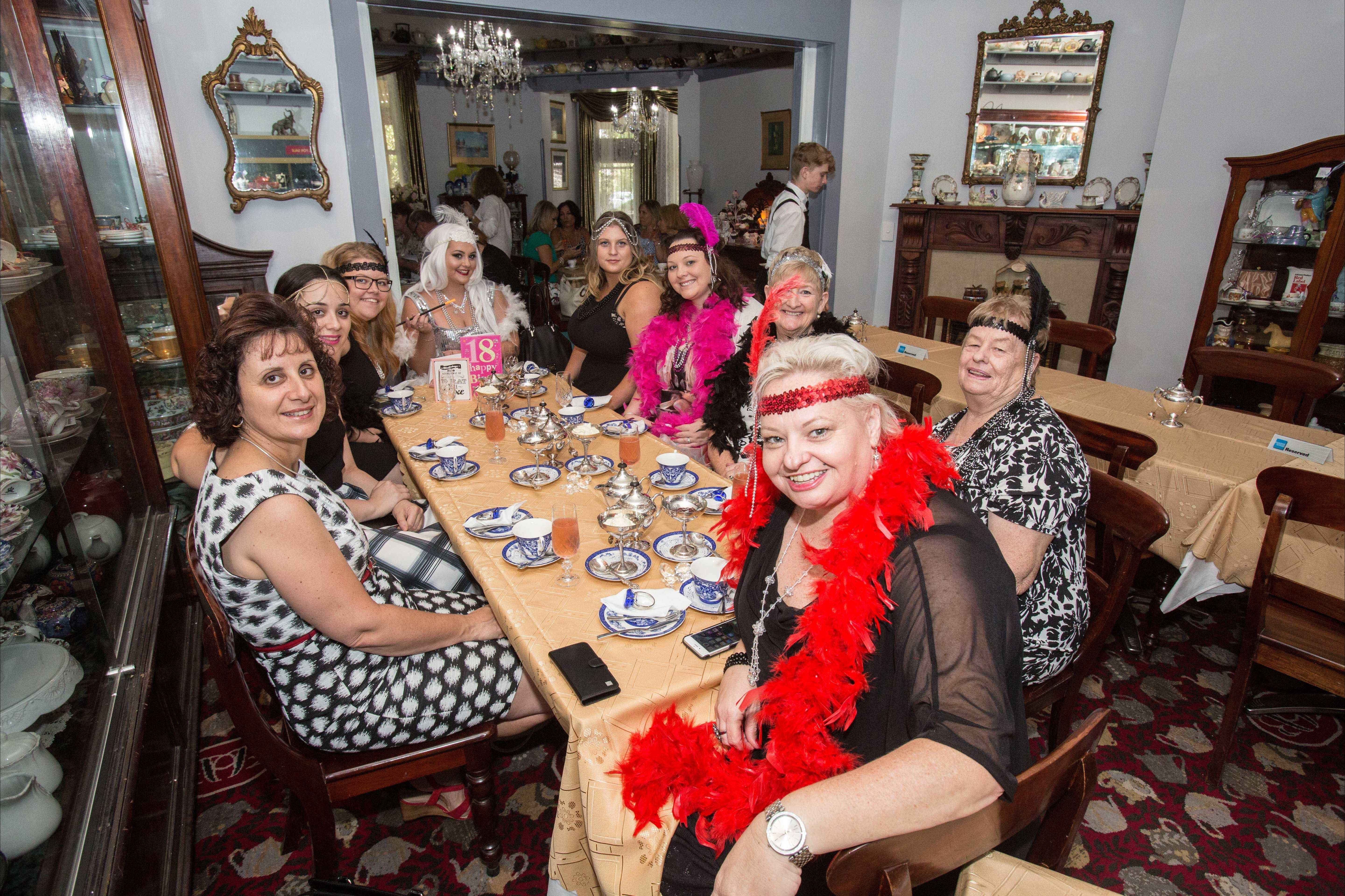 Bygone Beauty's Traditional High Tea Supreme for Good Food Month. - Accommodation Melbourne