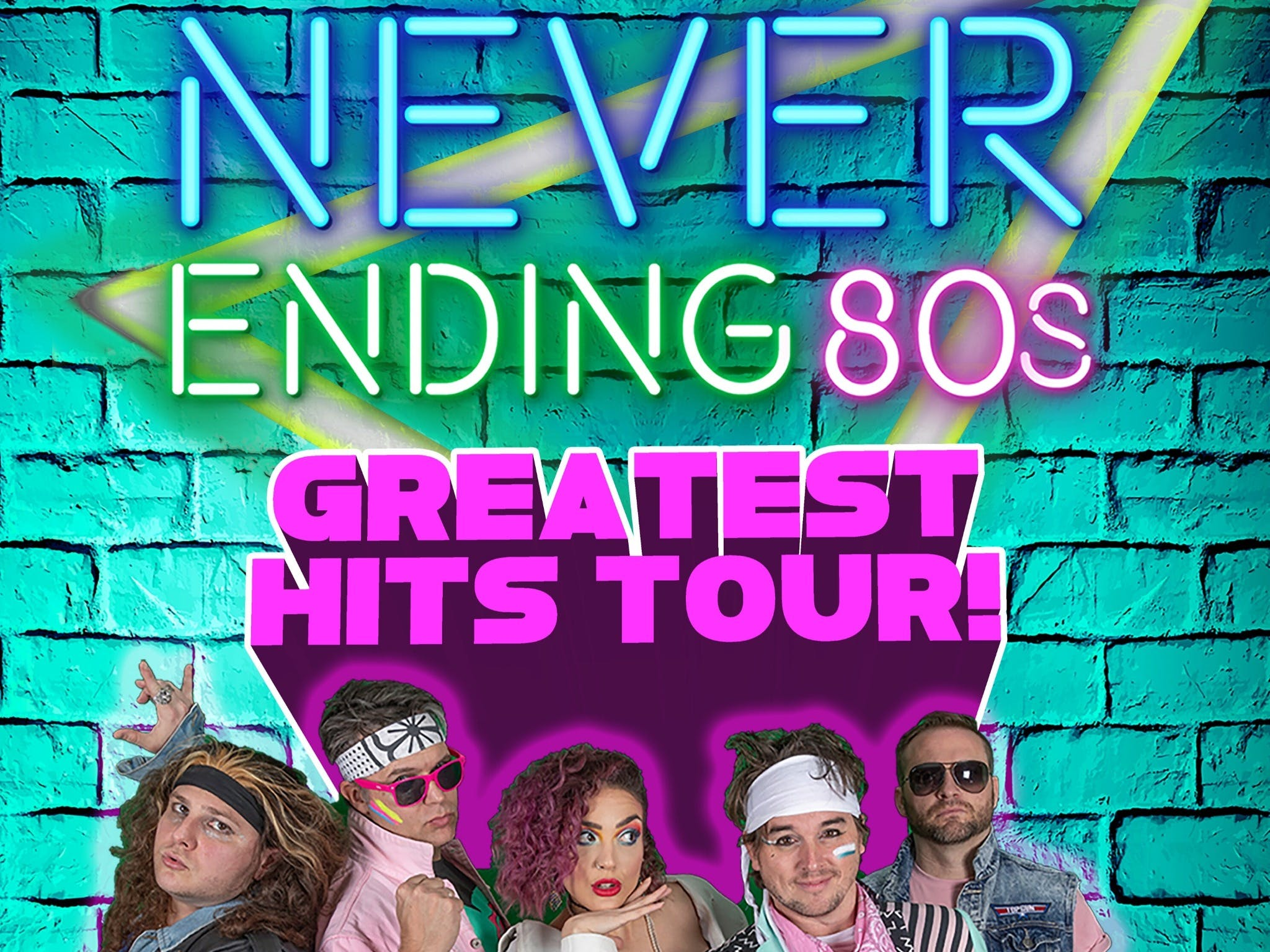 Never Ending 80s - The Greatest Hits Tour - Accommodation Melbourne