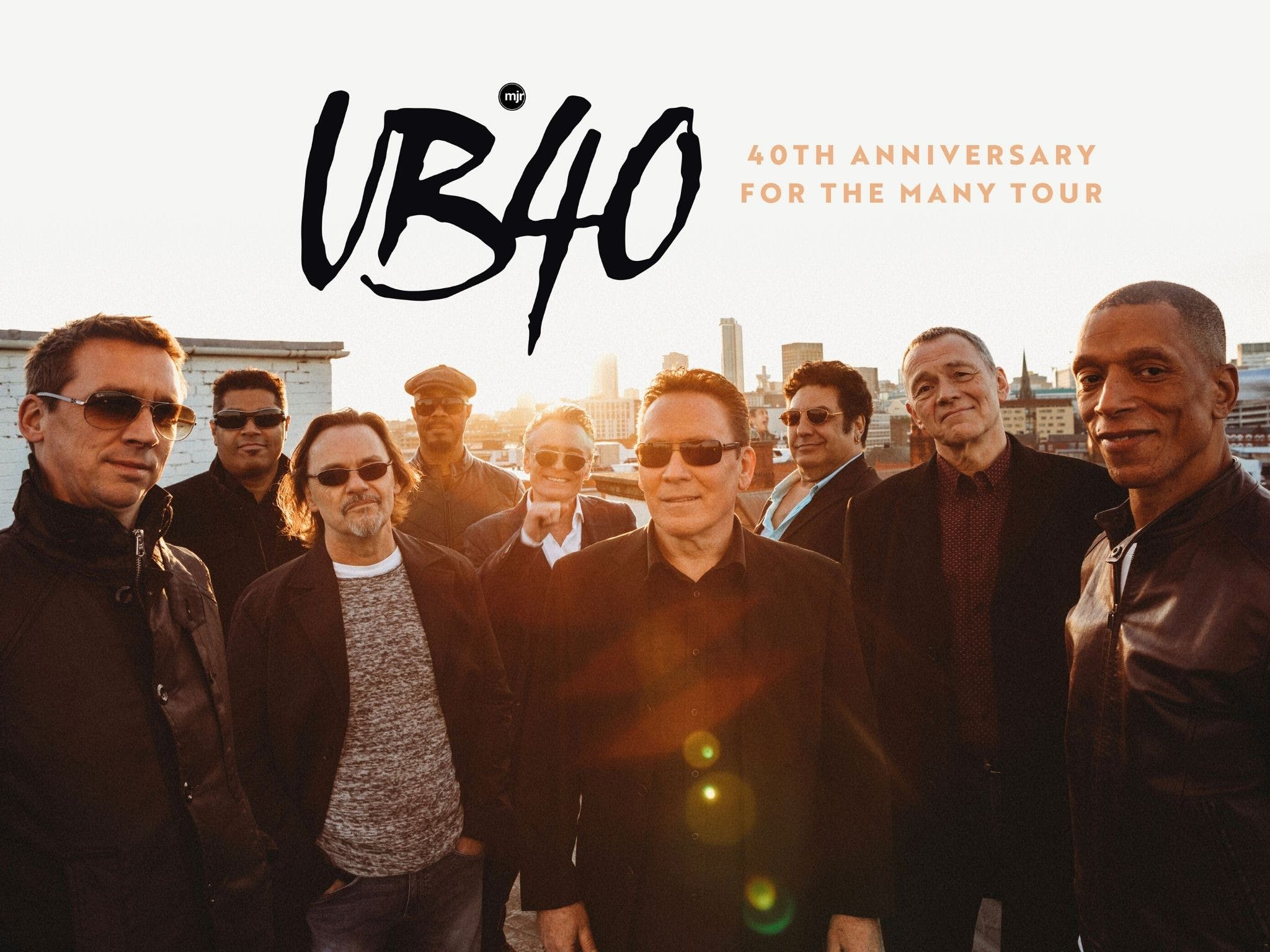 UB40 40th Anniversary Tour - Accommodation Melbourne