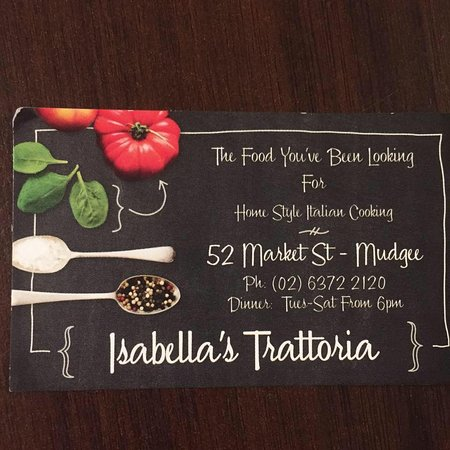 Isabella's Trattoria - Accommodation Melbourne