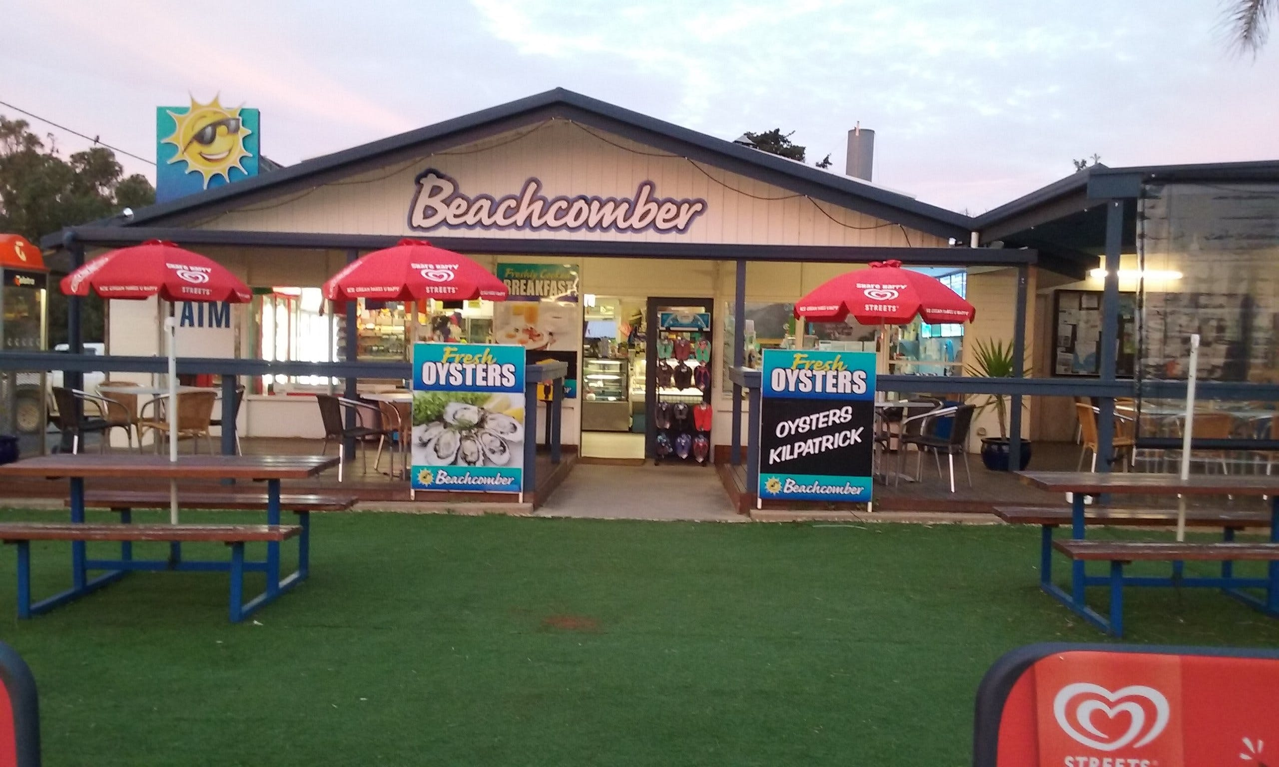 Beachcomber Cafe - Accommodation Melbourne