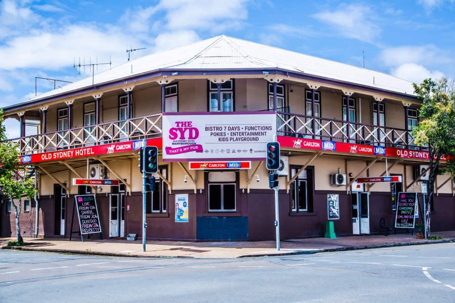 Old Sydney Hotel - Maryborough - Accommodation Melbourne