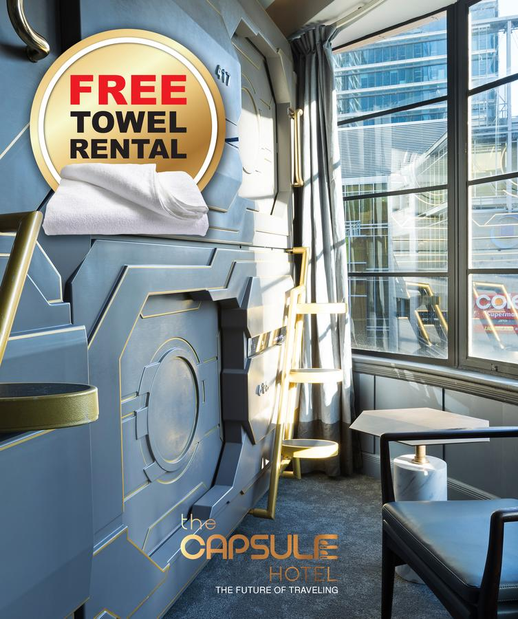The Capsule Hotel - Accommodation Melbourne