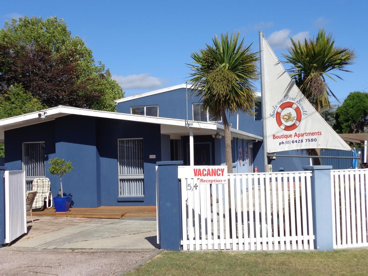 Sails on Port Sorell Boutique Apartments - Accommodation Melbourne
