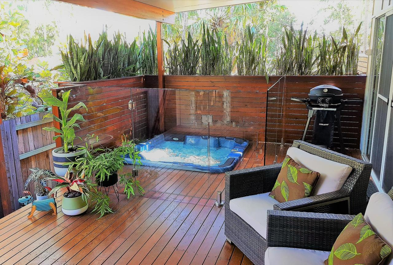 Pandanus Spa Cottage - Accommodation Melbourne