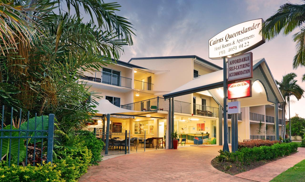 Cairns Queenslander Hotel  Apartments - Accommodation Melbourne