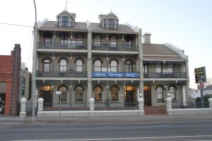 Alpine Heritage Motel - Accommodation Melbourne